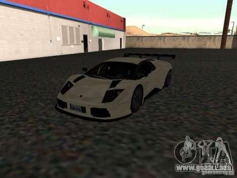 Lamborghini Murcielago R-GT para la visión correcta GTA San Andreas