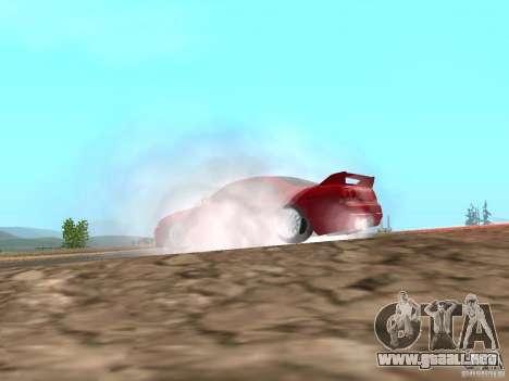 Nuevas texturas agua y humo para GTA San Andreas quinta pantalla