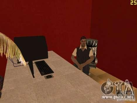 Ganton Cyber Cafe Mod v1.0 para GTA San Andreas segunda pantalla