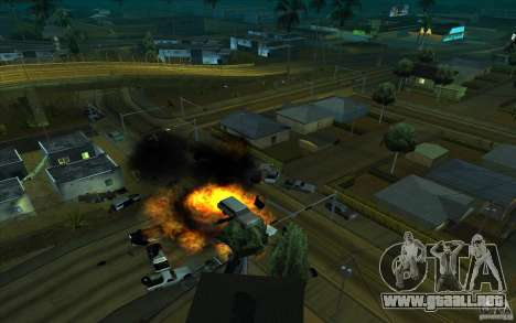 Dibujo para GTA San Andreas sucesivamente de pantalla