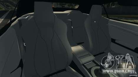 Aston Martin DBS Volante [Final] para GTA 4 vista interior