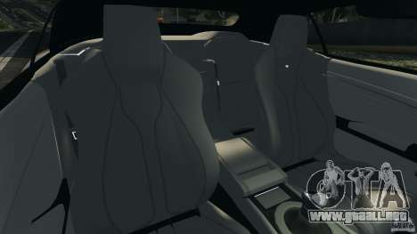 Aston Martin DBS Volante [Final] para GTA 4 vista interior