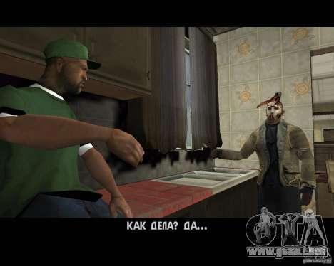 Jason Voorhees para GTA San Andreas sexta pantalla