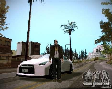 ENBSeries by slavheg para GTA San Andreas tercera pantalla