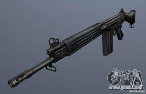 FN FAL para GTA San Andreas segunda pantalla