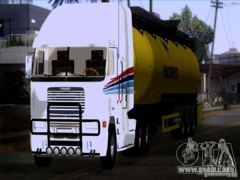 Freightliner Argosy Skin 3 para GTA San Andreas vista hacia atrás