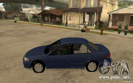 Honda Accord 2001 beta1 para GTA San Andreas left