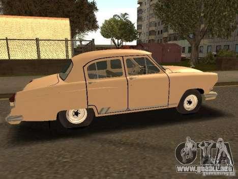 Taxi 21 Volga GAZ para la visión correcta GTA San Andreas