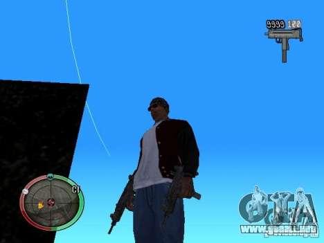 Cambiar el estilo de ajuste y Usi para GTA San Andreas sucesivamente de pantalla