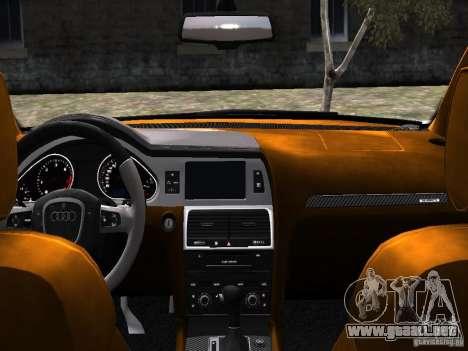 Audi Q7 V12 TDI Quattro Final para GTA 4 vista lateral