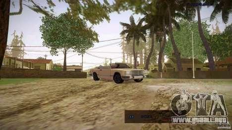 Feltzer HD para la visión correcta GTA San Andreas