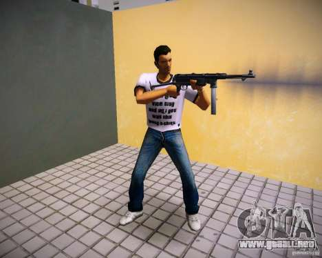 MP-40 para GTA Vice City tercera pantalla