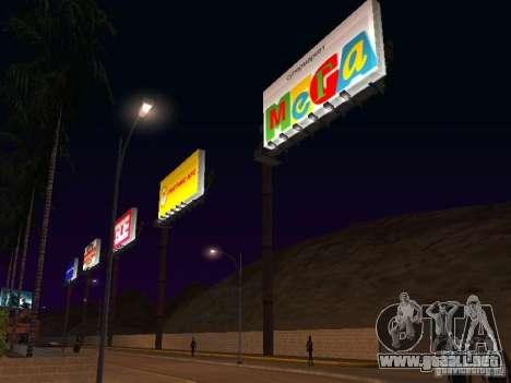 Tienda rusa en Las Venturase para GTA San Andreas segunda pantalla
