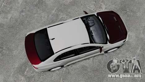 Mitsubishi Lancer Evolution X ToneBee Designs para GTA 4 visión correcta