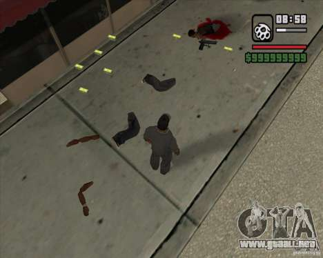 Real Ragdoll Mod Update 2011.09.15 para GTA San Andreas sexta pantalla