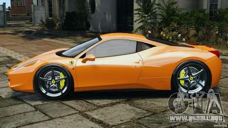 Ferrari 458 Italia 2010 v3.0 para GTA 4 left
