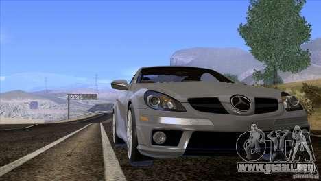 Mercedes-Benz SLK 55 AMG para visión interna GTA San Andreas