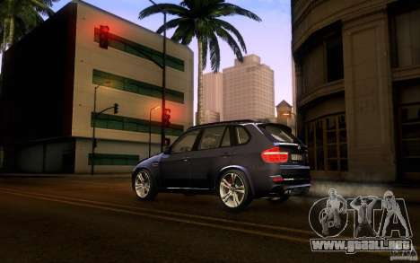 BMW X5M  2011 para GTA San Andreas left