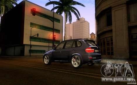 BMW X5M  2011 para GTA San Andreas left