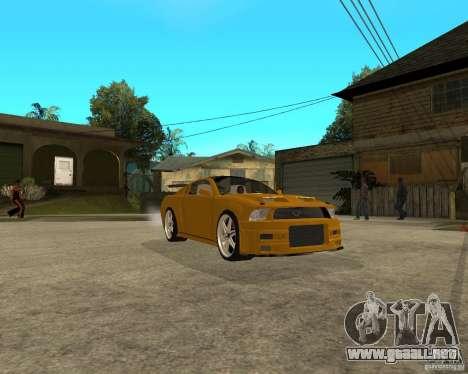 Ford Mustang GT 2005 Concept JVT LORD TUNING para la visión correcta GTA San Andreas
