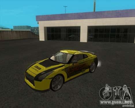 Nissan GTR35 para GTA San Andreas