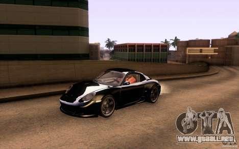 Ruf RK Coupe V1.0 2006 para vista inferior GTA San Andreas
