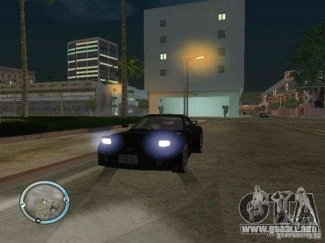 New GTA IV HUD 1 para GTA San Andreas sucesivamente de pantalla