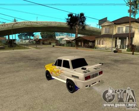 ZAZ 968 m tûningovanyj para GTA San Andreas left