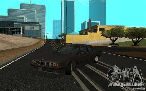 BMW 525 (E34) para GTA San Andreas left