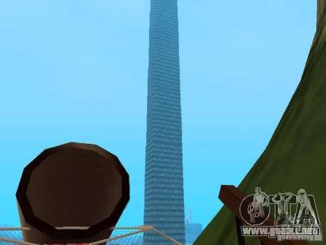Isla (mes en el agua) para GTA San Andreas tercera pantalla