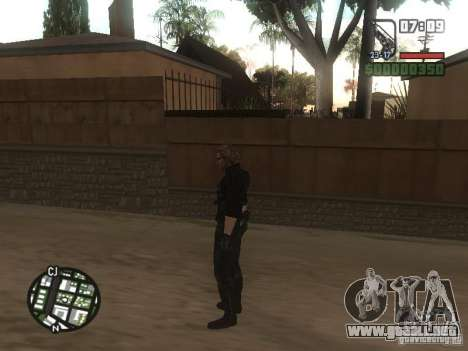 Wesker de RE5 para GTA San Andreas sexta pantalla