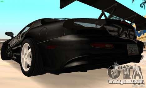 Mazda RX7 Tuned para la visión correcta GTA San Andreas