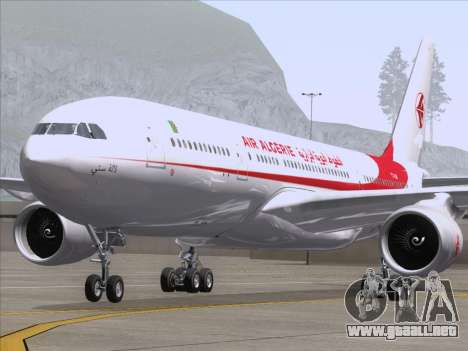 Airbus A330-203 Air Algerie para visión interna GTA San Andreas