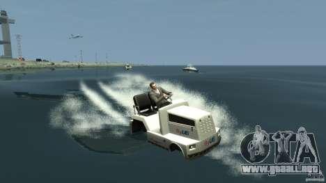 Airtug boat para GTA 4 left