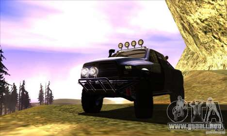 Dodge Ram All Terrain Carryer para visión interna GTA San Andreas