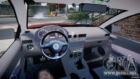 Volkswagen Bora para GTA 4 vista hacia atrás