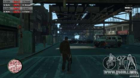 First Person Shooter Mod para GTA 4 décima de pantalla
