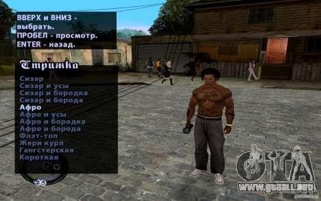 Nuevo CJ para GTA San Andreas novena de pantalla