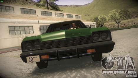 Dodge Monaco para la vista superior GTA San Andreas