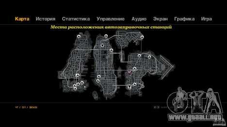 Relleno para GTA 4 tercera pantalla