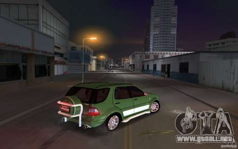 Mercedes-Benz ML55 Demec para GTA Vice City visión correcta