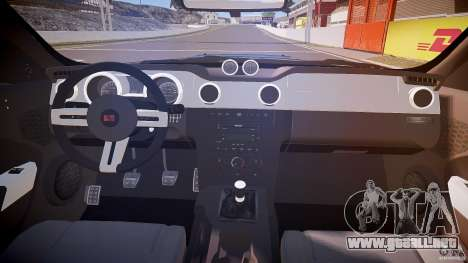 Saleen S281 Extreme - v1.1 para GTA 4 vista hacia atrás
