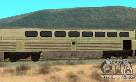 New Streak Skin para GTA San Andreas vista posterior izquierda