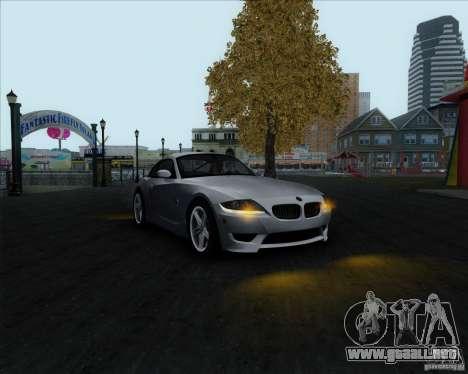 BMW Z4M para la visión correcta GTA San Andreas