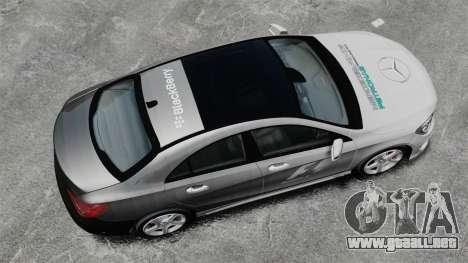 Mercedes-Benz CLA 250 2014 para GTA 4 visión correcta