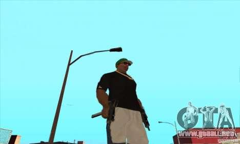 WEAPON BY SWORD para GTA San Andreas twelth pantalla