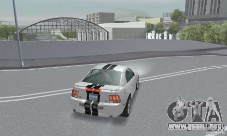 Ford Mustang GT 2003 para vista inferior GTA San Andreas