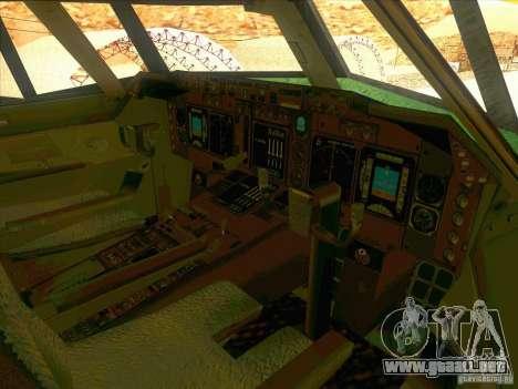 Boeing E-767 para la vista superior GTA San Andreas
