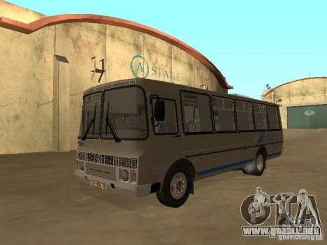 Surco-4234 para GTA San Andreas vista posterior izquierda