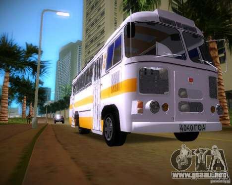 Paz-672 para GTA Vice City left
